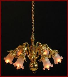 Dolls house chandeliers dolls house ceiling light 6039 aloadofball Choice Image