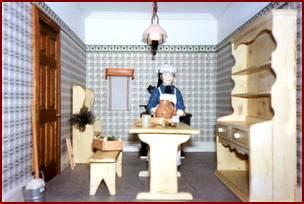 Beautiful ... Dolls House Kitchen. Kitchens !